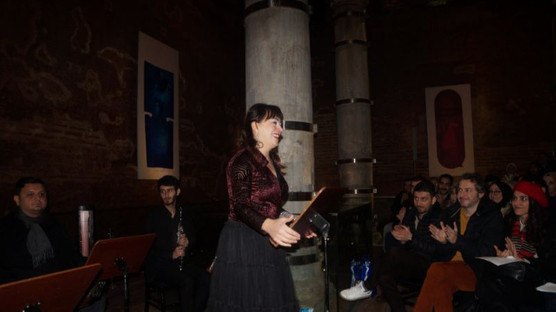 'Music of İstanbul' at the Şerefiye Cistern
